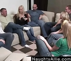 Party Game Leads prevalent a Huge Orgy &ndash_ Swinger Wives - Free Porn Videos - YouPorn.MP4