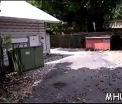 Milf disrobes for hawt fucking