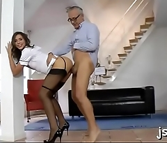 Great blow job and fuck session