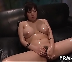 Hot oral-sex from skinny japanese
