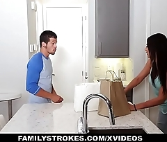 FamilyStrokes - Hot Teen Pounded At the end of one's tether The brush Cousin