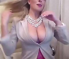Super hot blonde girl linger porn from office