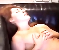 Hot dominate blonde gets her pussy ready for pounding