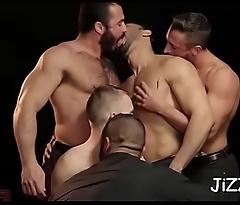Intensive homo anal orgy