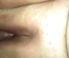 Wet BBW pussy getting fucked