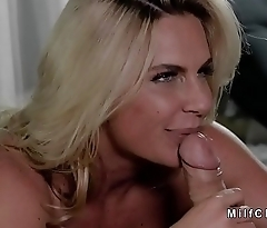 Fat cuckold watches wife making out