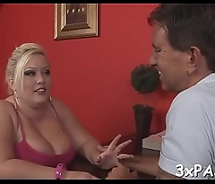 Man fucks his hot fat gf