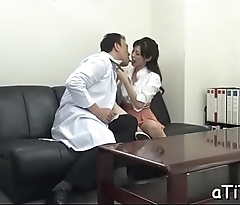 Large mambos asian'_s lusty insertion