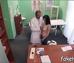 Nasty doctor cant get enough of sex